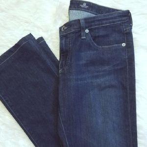 AG The Ballad Slim Boot Dark Wash Jeans